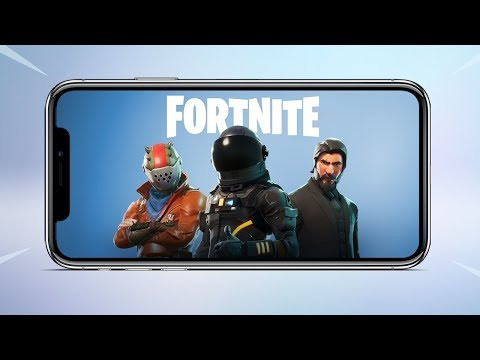 Fortnite is Now Available On IOS For Everyone , Coming Soon on Android
