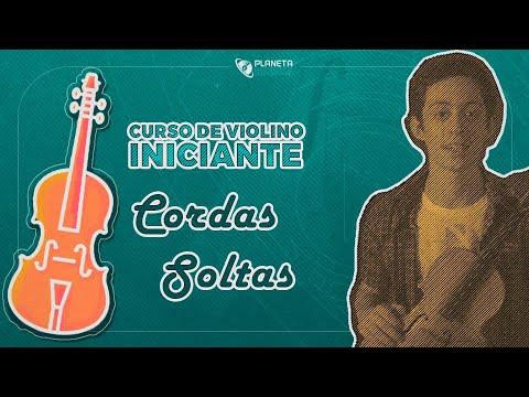 Curso Violino Iniciante | Aula Arcada e Cordas Soltas