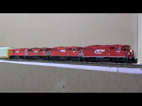 HO Quadruple CP Red Barns
