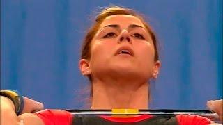 2007 European Weightlifting Championships, Women 63 kg \ Тяжелая Атлетика. Чемпионат Европы