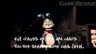 SFM FNAF Five Nights At Freddy s 2 song Анимация на русском RUS