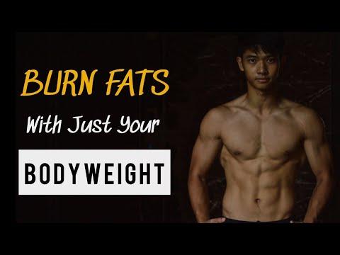 Burn Fats & Get Lean With Bodyweight Training