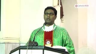 English Mass @ St.Joseph's Cathedral, Gunfoundry, Hyd, Telangana , INDIA.25-08-16.HD