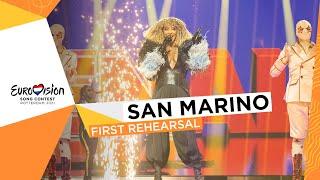 Senhit - Adrenalina - First Rehearsal - San Marino 🇸🇲 - Eurovision 2021
