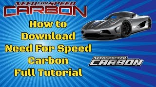 How to Download Need For Speed Carbon 2016 PC Game (Updated Today)