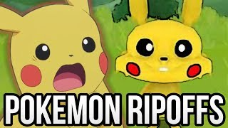 10 Completely Shameless Pokémon Knockoffs