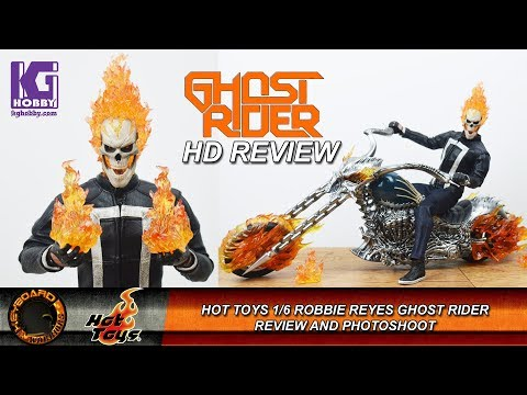Hot Toys 1/6 Scale Robbie Reyes Ghost Rider Review and Photoshoot