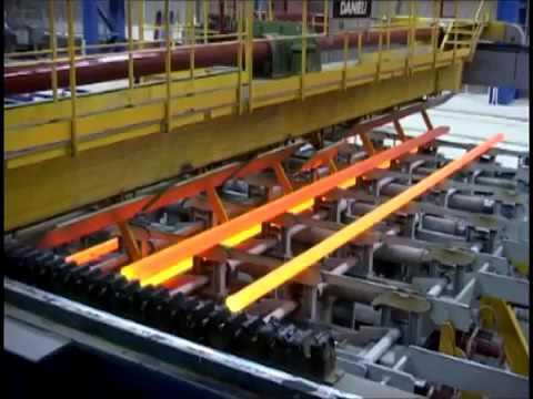 непрерывная разливка стали на Челябинском металлургическом комбинате