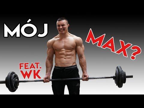 PIERWSZY RAZ NA SIŁOWNI feat. WK *sprawdzam maxy* thumbnail