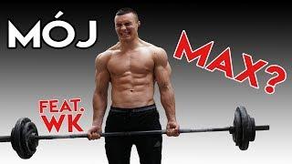 PIERWSZY RAZ NA SIŁOWNI feat. WK *sprawdzam maxy*