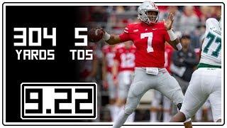 Dwayne Haskins Full Highlights Ohio State vs Tulane || 9.22.18 || 304 Yards, 5 TDs