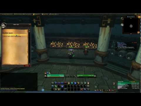 Paiid | Level 30 Monk Training Quest - Master Woo