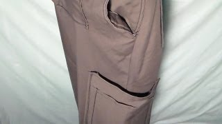 How to make Cargo pants, part 1