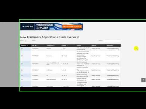 Find New Apple or Google Trademark Applications in Europe - Video Tutorial Mp3