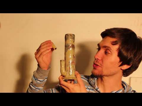 How to make a ceramic water pipe