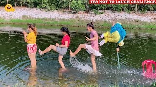 New Top Funny Comedy Video 2020 🤣 😂 Try Not To Laugh - Episode 113   Cười Bể Bụng