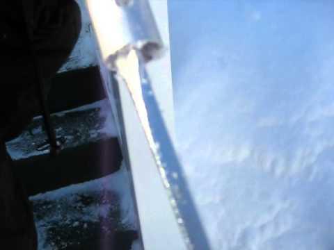 Roof Razor 174 Roof Rake Removing Snow In Sudbury Ma Part
