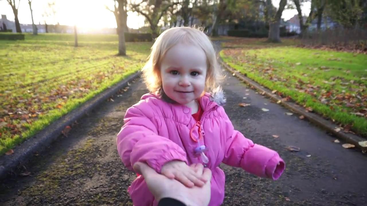 Livia w parku