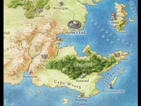 The official game of thrones map accidental spoilers youtube the official game of thrones map accidental spoilers gumiabroncs Images