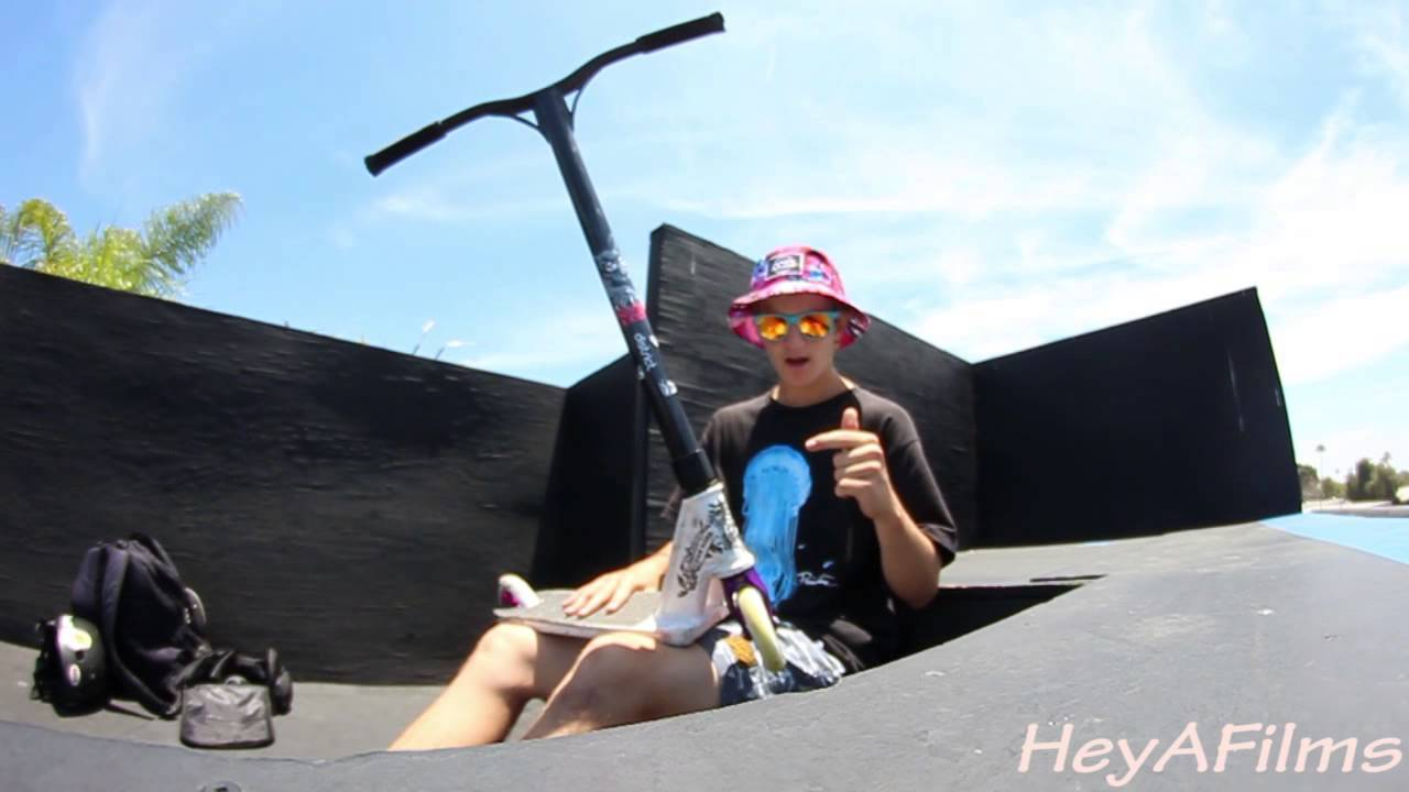 Jake Angeles Scooter Check 2015 Clips Youtube