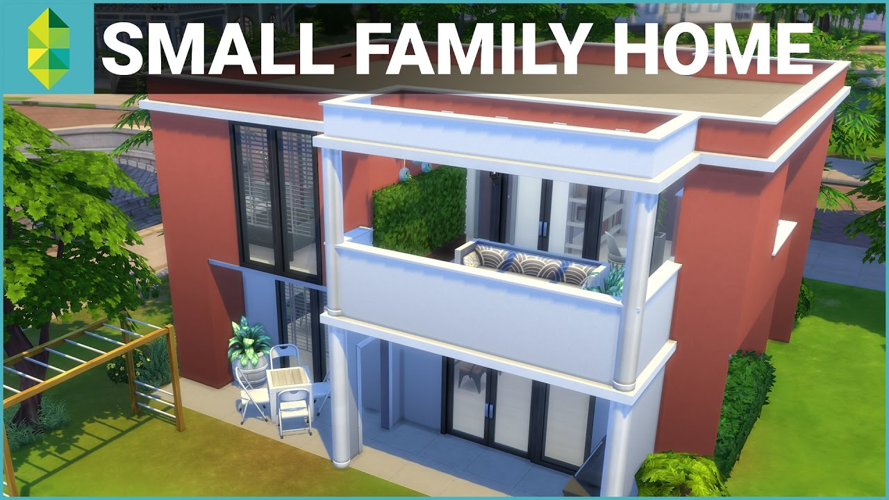 The Sims 4 House Building Small Family Home Youtube