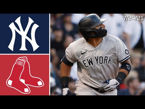 Download New York Yankees @ Boston Red Sox | Game Highlights | 7/24/21
