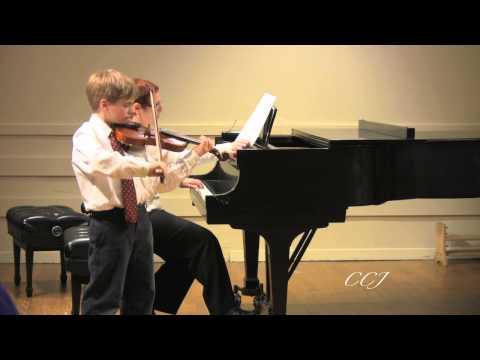 Avery Aldrich, 10, plays Seitz Concerto No. 3 in G...