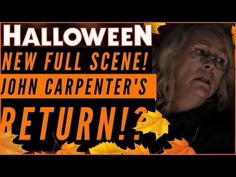 Halloween 2018: Laurie vs Michael FULL SCENE + John Carpenter Coming Back!?