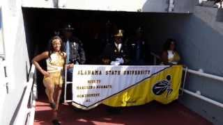 Alabama state mighty marching hornets Magic City Classic 2013