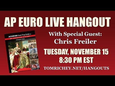 AP Euro Live Hangout w/ Chris Freiler (AP Achiever)