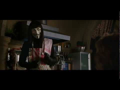 "V for Vendetta - ""Symbols"" are given power by People !"