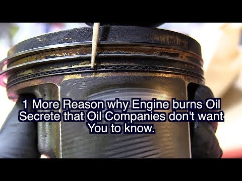 Why Engine Burning Oil, Oil Consumption, Motorcraft, Pennzoil, Mobil 1, Schaeffer Ford Toyota, Chevy