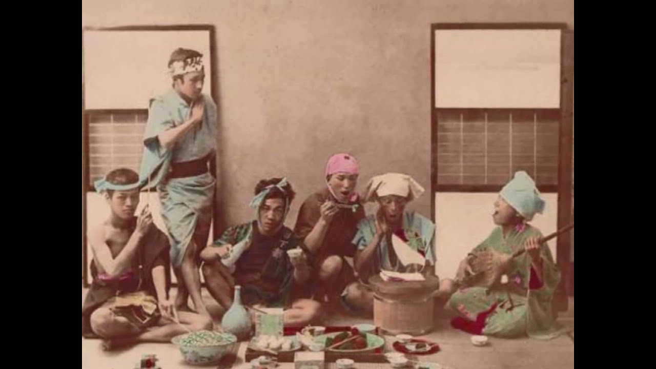Japan photos in the late 1800′s - YouTube
