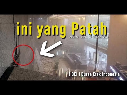 Penyebap  Bursa Efek Indonesia  Roboh