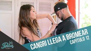 Cangri llega a bromear con Perla | Los Perlas