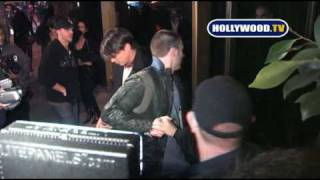 Chris Evans At Bar Delux in Hollywood.