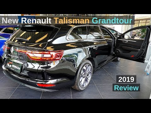 New Renault Talisman Grandtour Estate S Edition 2019 Review Interior Exterior