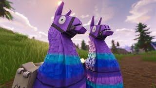 Ultra Rare Twin Llamas Fortnite