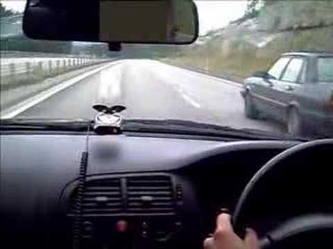 400 bhp Skyline vs. sleeper Audi