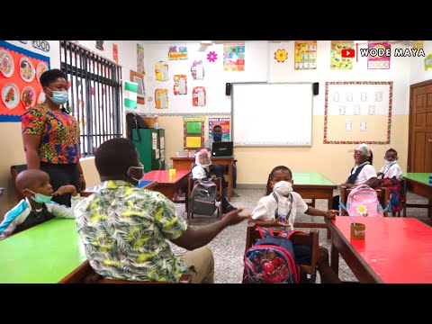 Wodemaya Goes Back To Primary School In Lagos Nigeria