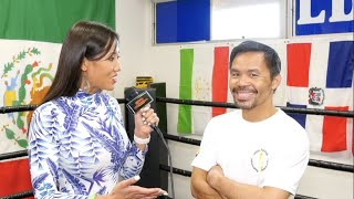 Manny Pacquiao Wants To Take A Picture With A Certain Someone..