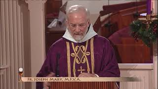 Daily Catholic Mass - 2017-12-15 - Fr. Joseph