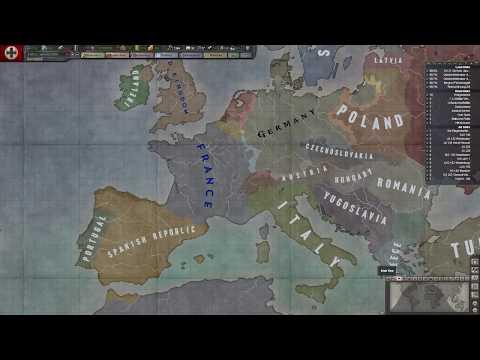 Magyar Let's Play Hearts of Iron 3 BlackICE - Nosztalgiafutam - 1. Rész