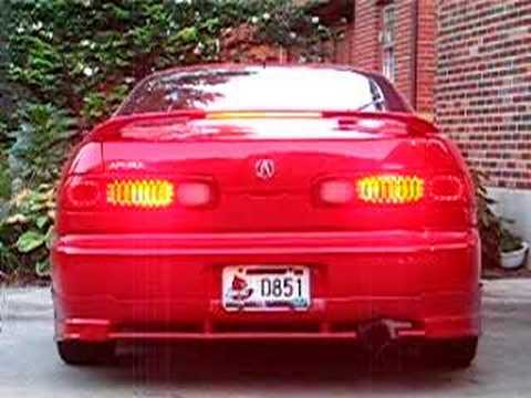 Custom Led Taillights Acura Integra