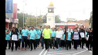 Sultan Nazrin berkenan sertai Larian Hari Keputeraan