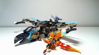 LEGO Legends of Chima Video Review : Vultrix