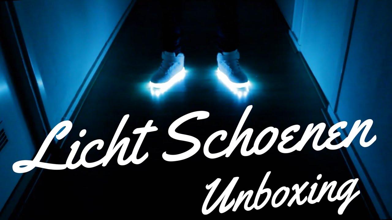 Led Licht Schoenen : Licht led schoenen unboxing en demo youtube