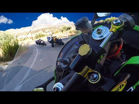 Kawasaki Ninja Zx10R In Action