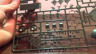 Обзор модели танка Т 34/85 от Trumpeter 1/16