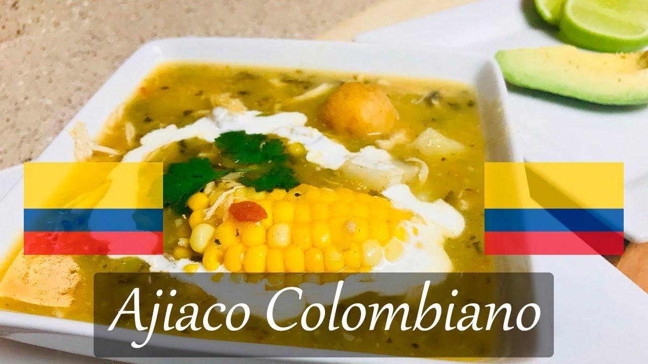 Ajiaco Colombiano O Santafereno Facil Y Rapido La Sazon Youtube